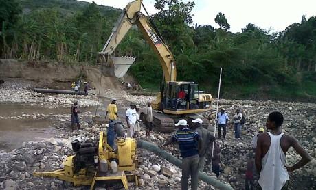 Renovation of three municipal water distribution systems